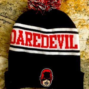 Marvel Daredevil Men Winter Toque with PomPom New